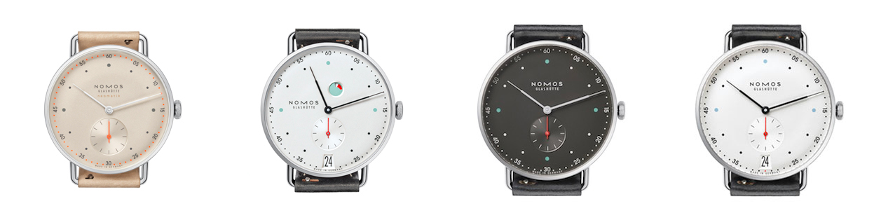 the different sizes of the nomos metro explained