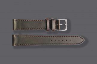 nomos 5837 watch strap shell cordovan 20mm brown