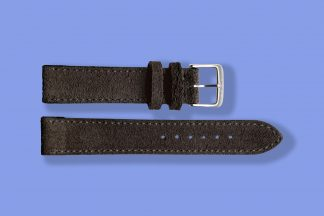 nomos watch strap anthracite 17mm velour 5893