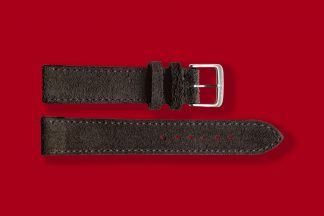 nomos watch strap anthracite 18mm velour 5891