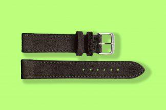 nomos watch strap anthracite 19mm velour 5894