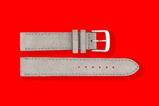 nomos watch strap velour 20mm grey 5888