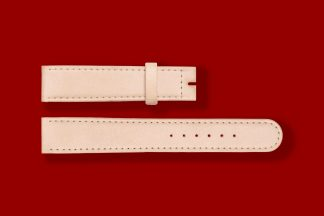 17mm 5809 nomos watch strap natural cowhide leather