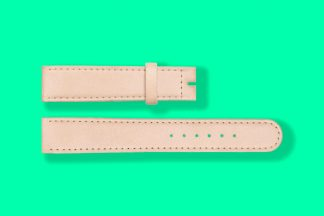18mm 5810 nomos watch strap natural cowhide leather