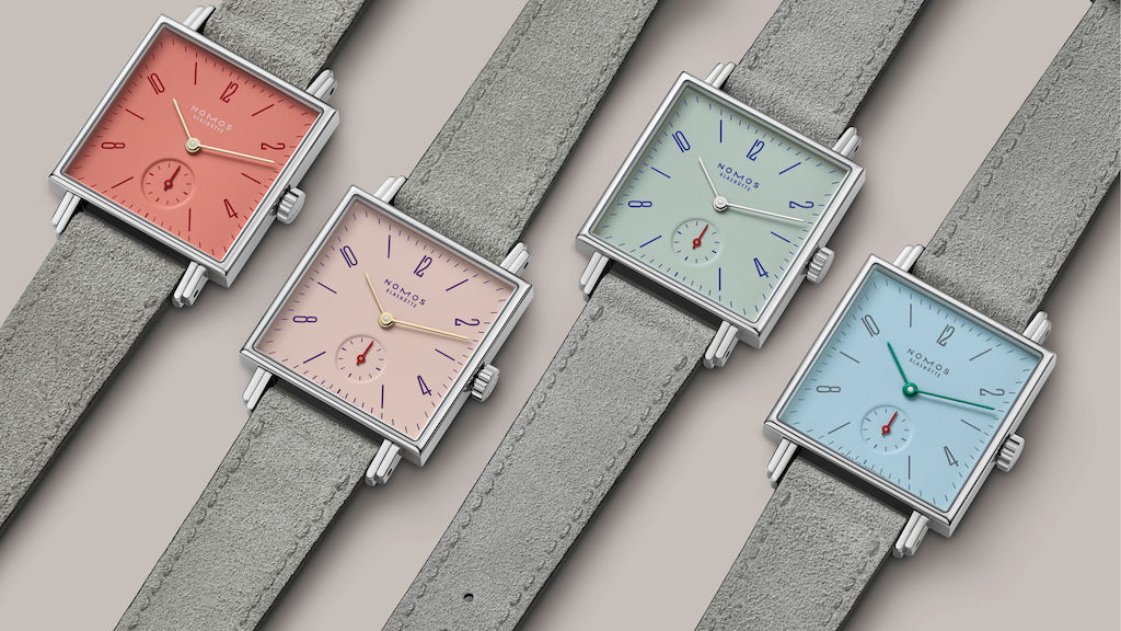 Baselworld 2018 Nomos novelties Petit Four series Minimatikal