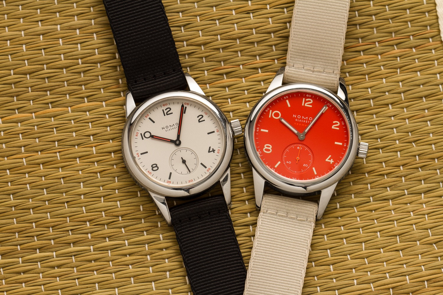 nomos club 701 with alpha movement versus nomos club neomatik