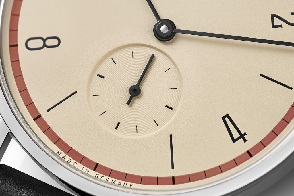 Nomos Glashuette Tangente 100 Years Bauhaus Limited Edition Red